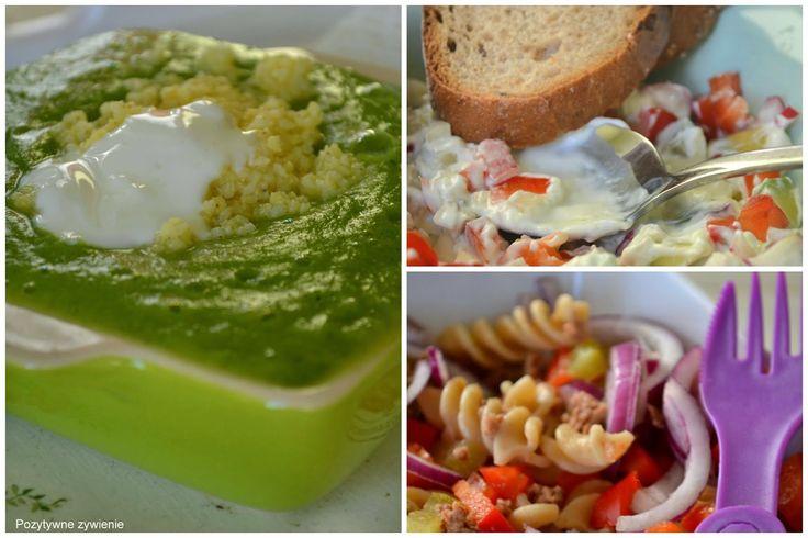 Pozytywne żywienie - dietetyka od przyjemnej strony: 3 najprostsze i najszybsze kolacje do 300 kcal - pasta do chleba z awokado, sałatka makaronowa z tuńczykiem i krem z brokułów
