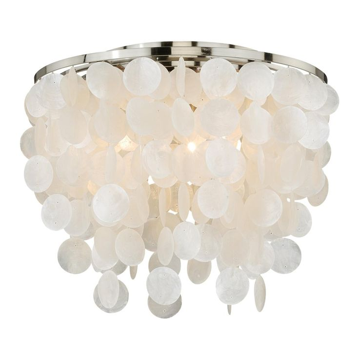 Picture Gallery For Website Shop Cascadia Lighting Elsa Capiz Shell Flush Mount at Lowe us Canada Find our selection of flush mount ceiling lights at the lowest price guaranteed with