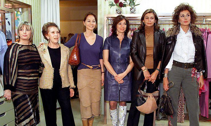 María Teresa Campos, María Rosa Salvador, Isabel Preysler, Ana Rosa Quintanilla, Marisa de Borbón, Naty Abascal