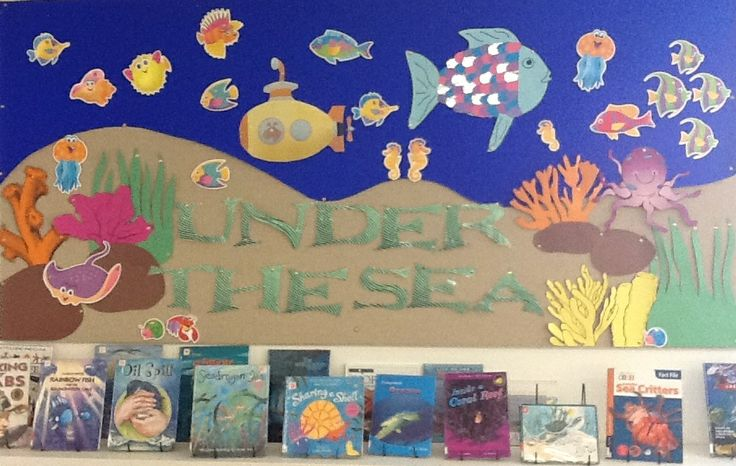 Library Displays Under the Sea