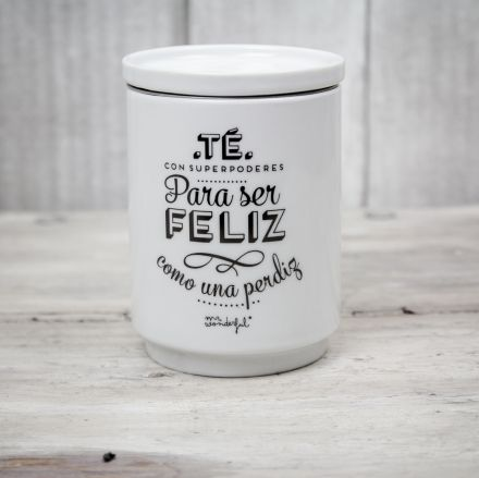 taza de te mr wonderful para Té