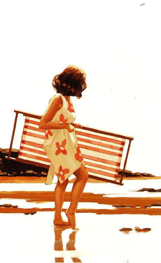 Jack Vettriano ~ Sweet Bird Of Youth