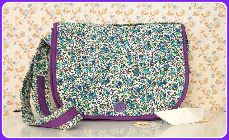 Koumpaki Vintage Lavender Messenger Bag*