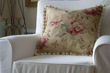 Как сшить диванные подушки