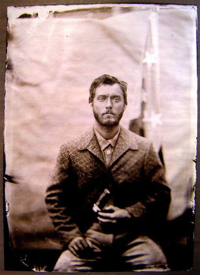 Голливудские звезды, снятые камерой XIX века • НОВОСТИ В ФОТОГРАФИЯХ