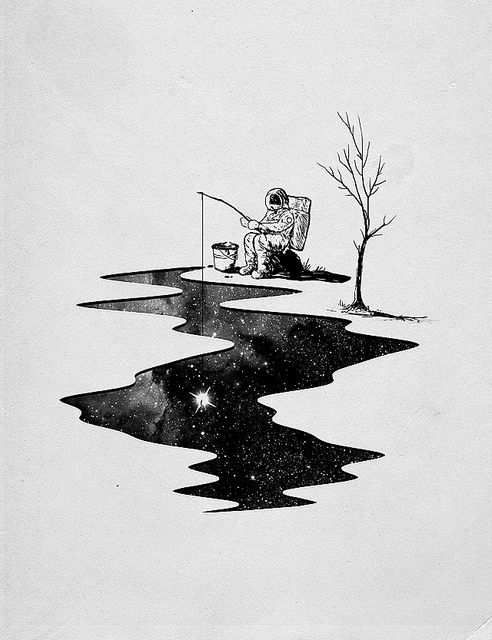 Star Fishing by nicebleed