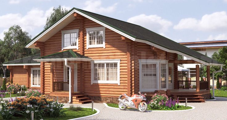 Проект деревянного дома — Приозёрный — ПР-142