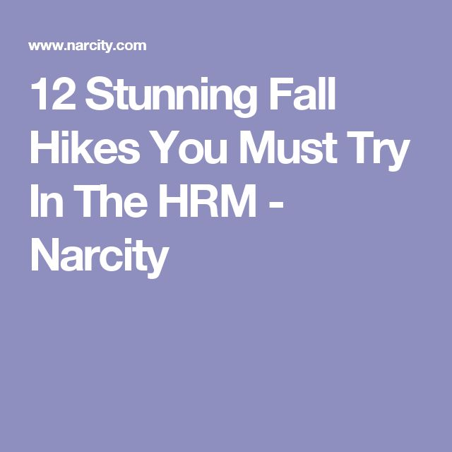 12 Stunning Fall Hikes You Must Try In The HRM - Narcity