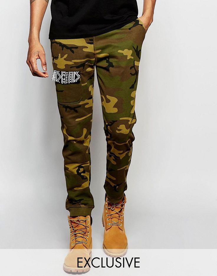 The New County Camo Skinny Joggers