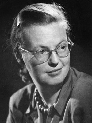 "Shirley Jackson    You know ""The Lottery,"" the short story every writer studies at some point in his life? It only took her an afternoon to write.    Read more: Greatest Women in History - 75 Greatest American Women - Esquire http://www.esquire.com/women/women-issue/greatest-women-in-history#ixzz2GUpmxZLV"