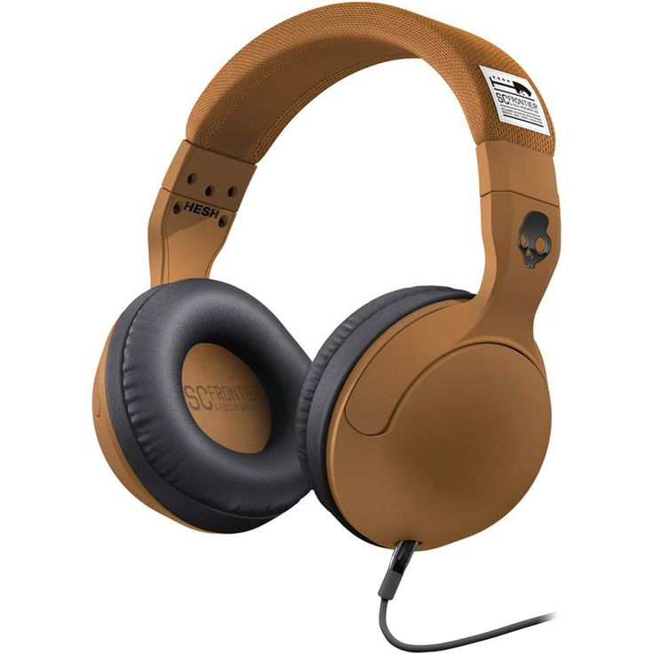 Block out the madness of Christmas with a pair of Skullcandy Hesh deciBel Collection Brown headphones. $99.00 from Parallel Imported.