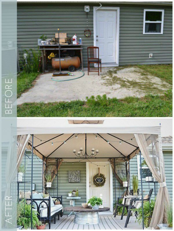 Trend: 8 DIY Ideas to Transform a Dull Backyard or Patio: Check out these ideas to transform your backyard or patio from blah to wow!