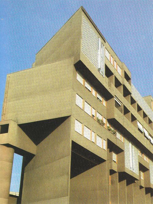CARLO AYMONINO  APARTMENT BLOCK / GALLARATESE QUARTER, MILAN 1967-74