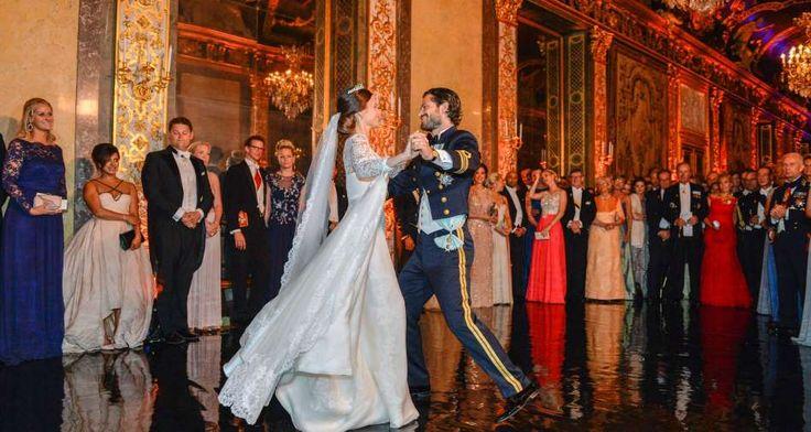 Hochzeit Schweden Royals - FOTO: ANDERS WIKLUND / TT NEWS AGENCY / AFP