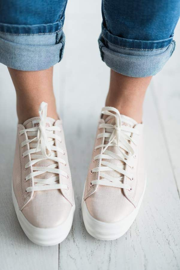 93ee9b3593b  ad Keds Triple Kick Metallic Sneakers - Rose Gold. ntroducing your new  favorite day-to-night sneaker  the Triple Kick Metallic linen. Metallic  shine ...