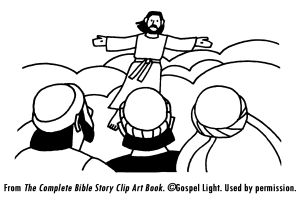 21 best Jesus Gave the Great Commission; Matthew 28:16-20