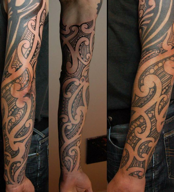 New Zealand Tattoo Maori: Maori Sleeves Images On Pinterest