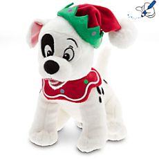 Dalmatian Puppy Christmas Mini Bean Bag