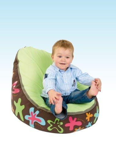 Doomoo Seat Lime Splash | Nursery Furniture | Baby Accessories Ireland | Cribs.ie