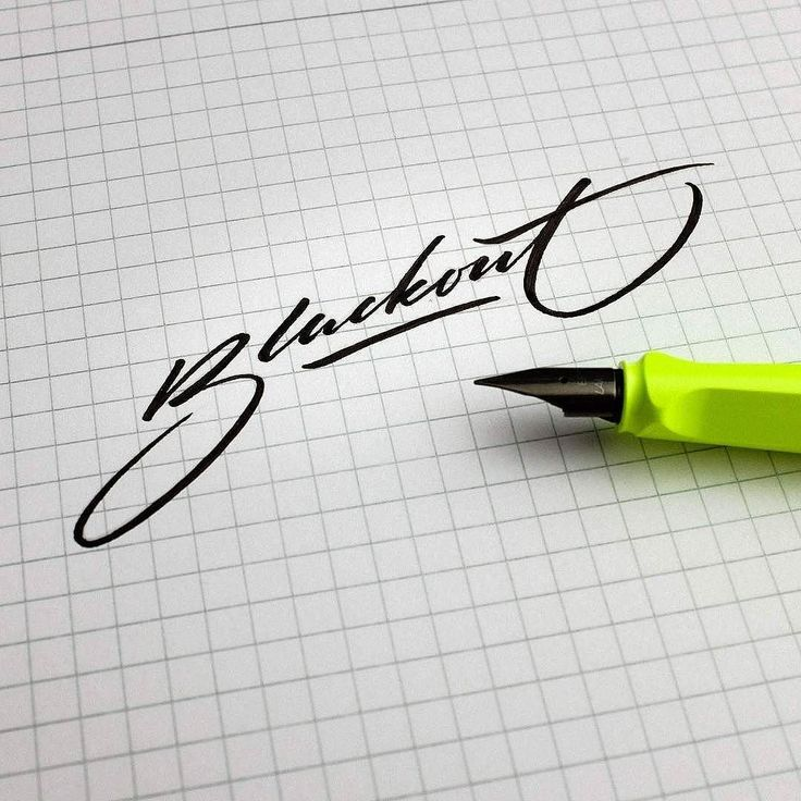 17 Best Images About Calligraphy Pointed Pen On Pinterest