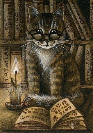 "Cat in Art""...."