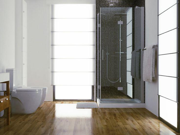 Ba o de dise o con cambio de ba era por ducha al mejor - Disenos de duchas de bano ...