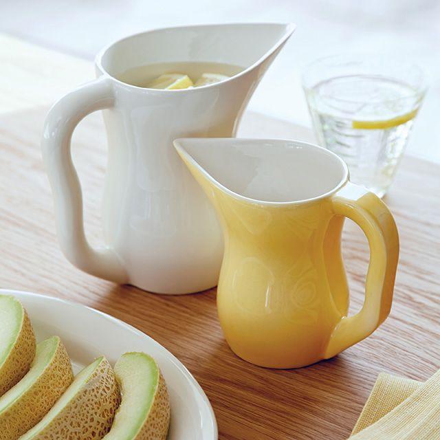Ursula kande 0,5 liter i gul - Kähler Design