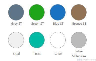 Màu sắc SolarLite - Tấm lợp lấy sáng polycarbonate rỗng ruột #polycarbonate #solarlite #indonesia