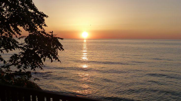 sunrise, the black sea, bulgaria, 08.2014