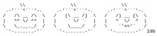 Jack-O-Lanterns in ASCII Art