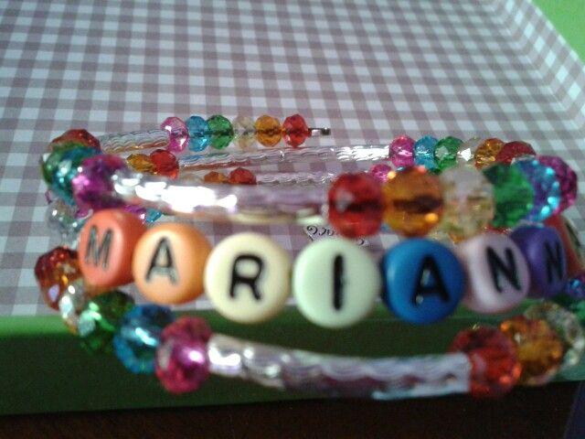 Personalised Bracelet rainbow