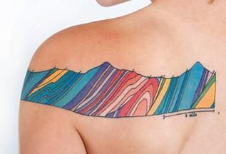 Geology Tattoos | The Hairpin