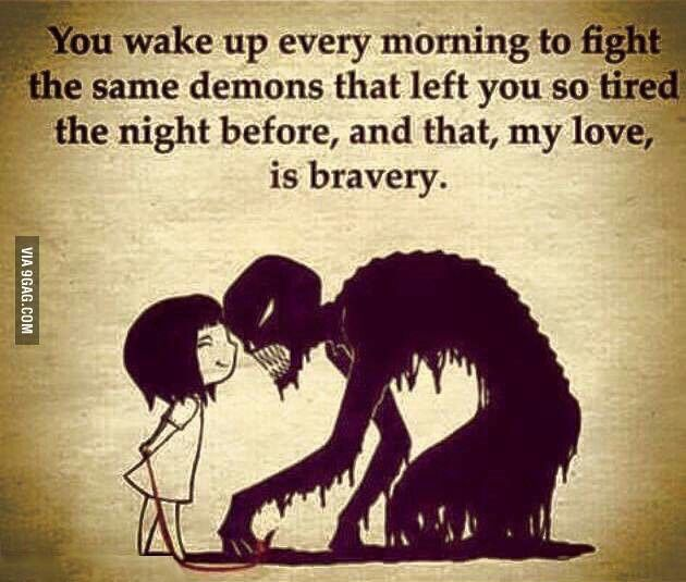 To each and every abuse survivor; this is the curse of our abuse, and the path of our healing journey. We survived, but are left with the memories, the PTSD, the depression, the demons. But, each new day greeted, lessens their power, and we will survive. We will win this war.