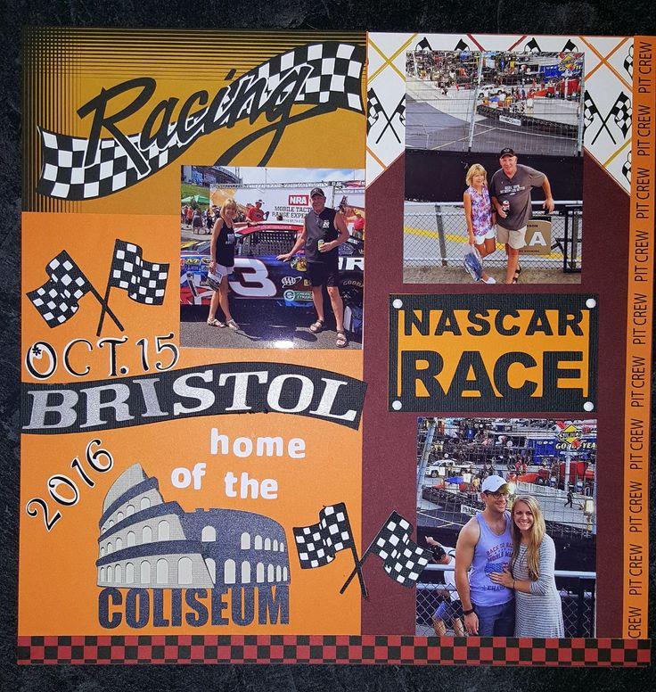 Bristol Nascar page