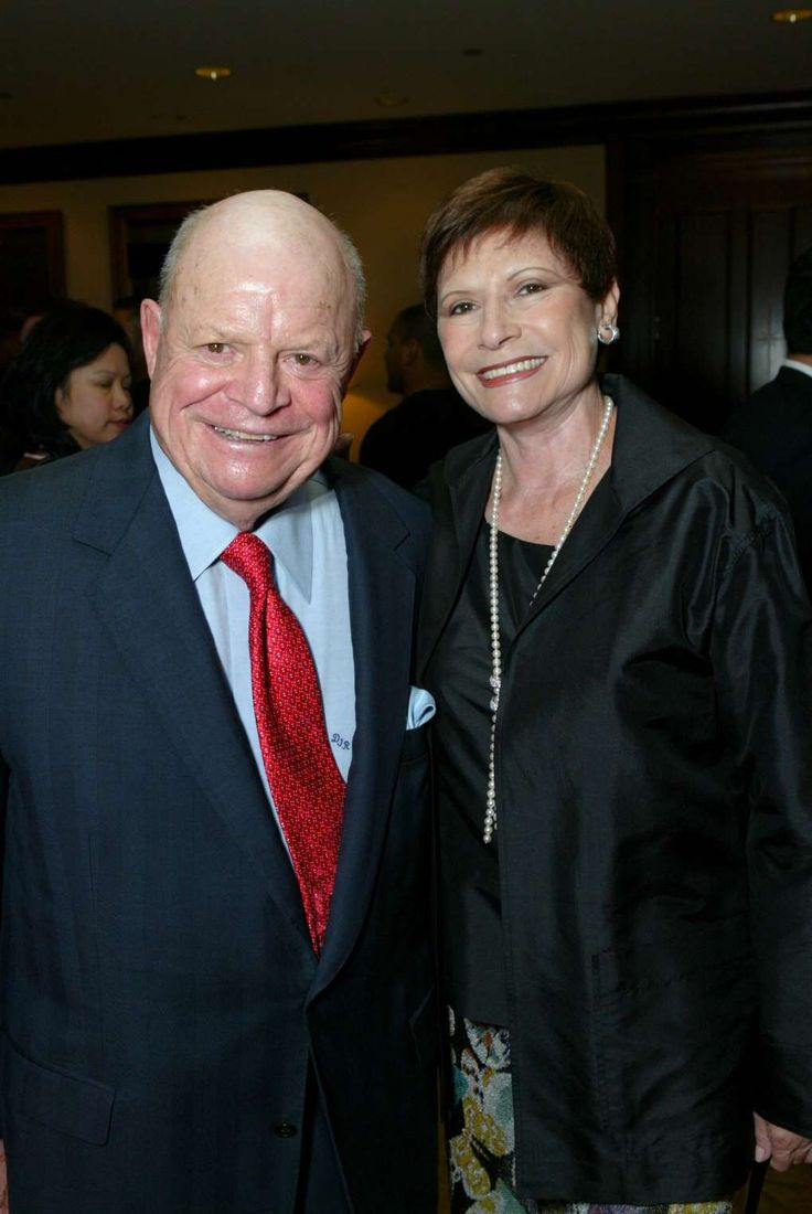 Don Rickles and wife Barbara
