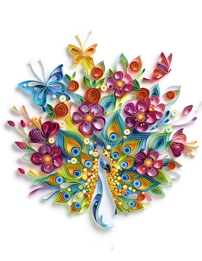 42 best images on pinterest paper quilling creative ideas paper explodes with life in this artists hands peacock quillingpaper quilling flowerspaper mightylinksfo