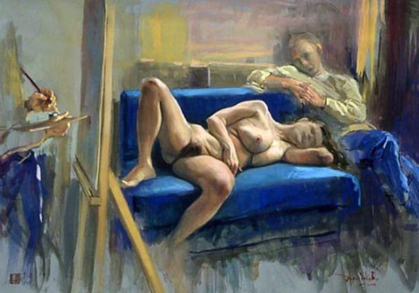 El sofà Azul