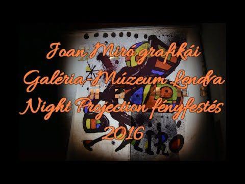 Joan Miró kiállítás megnyitó - Night Projection fényfestés - Galerija-Muzej Lendava További információ: www.night-project... #JoanMiró #Lendva #Lendava #NightProjection #fényfestés #raypainting #visuals