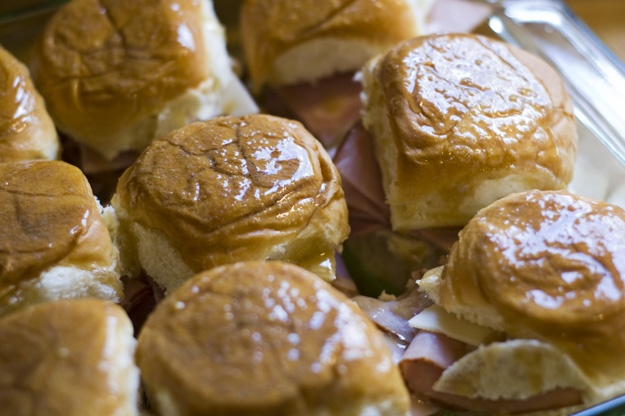 Hot & Melty Ham & Swiss