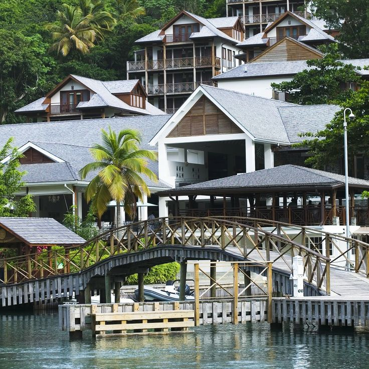 Capella Marigot Bay, St. Lucia—Castries, St. Lucia. #Jetsetter