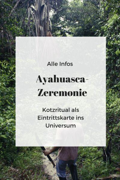Ayahuasca-Zeremonie in Peru   Infos Heilpflanze und Schamanen