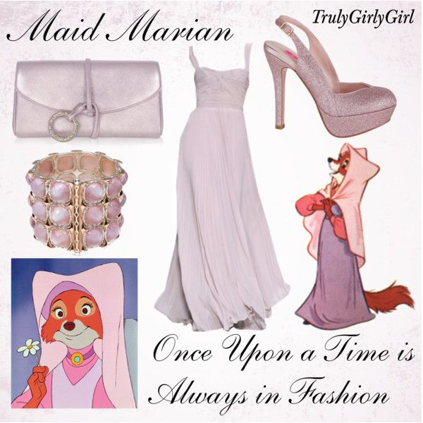 Disney Style: Maid Marian, created by trulygirlygirl on Polyvore