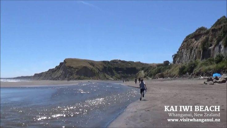 Kai Iwi Beach, Whanganui, New Zealand