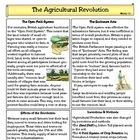 This one page reading plus one page of questions summarizes the Agricultural Revolution in Britain and how it helped create favorable conditions fo...