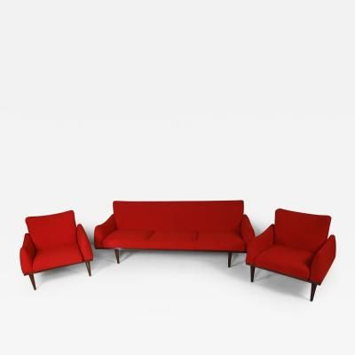 Illum Wikkels Danish Living Room Suite by Illum Wikkelson