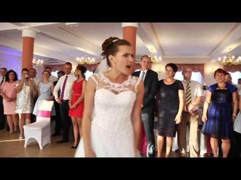 Zjawiskowy pierwszy taniec weselny Agi i Adama - YouTube