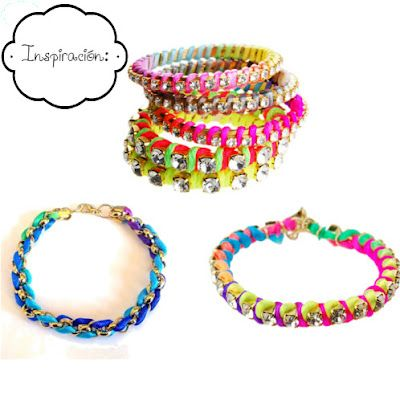 yo si voy a la moda: DIY Rhinestone Friendship Bracelet