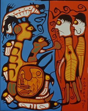 The Land Rights - Norval Morriseau