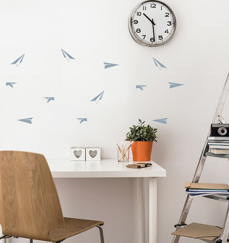 Less is more! Scandinavian design with minimalistic wall stickers - personalize its colour and create amazing look