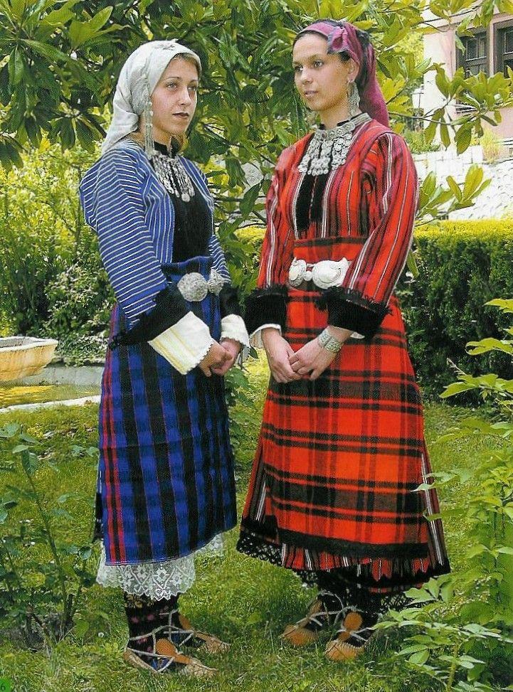 Women's costumes, early 20th c., Plovdiv region (PEM)